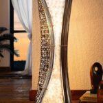 Sfeervolle Balinese Vloerlamp