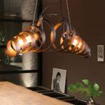 KJLARS Retro Industriële Hanglamp – Spiraallamp