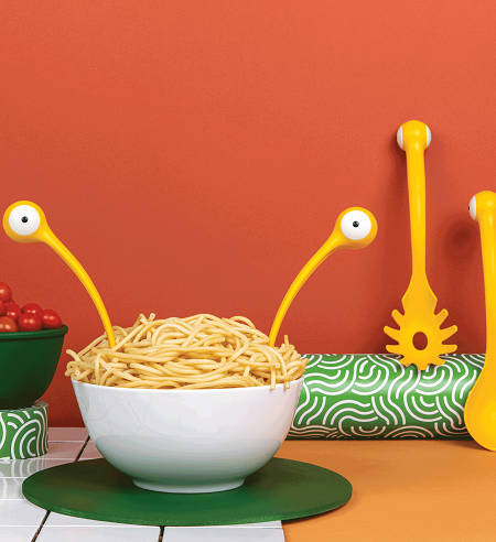 Pasta Monsters Opscheplepels (Set Van 2)