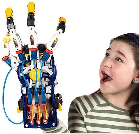 Hydraulische Hand Bouwpakket – Cyborg Hand