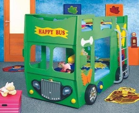 Happy Bus Kinder Stapelbed