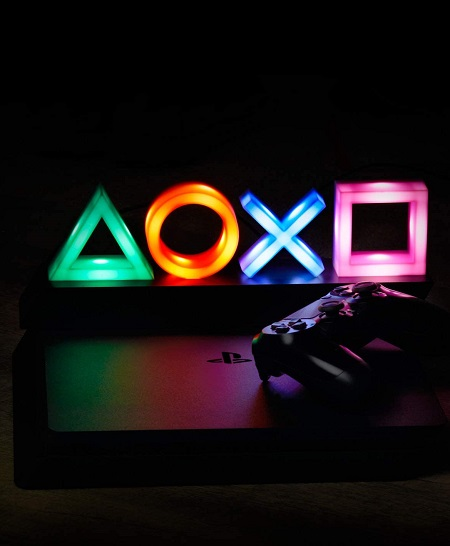 Kleurwisselende PlayStation Lamp