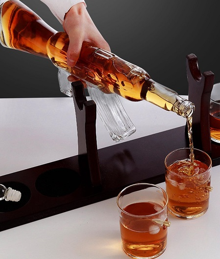 AK-47 – Luxe Whiskey Decanteerkaraf Set