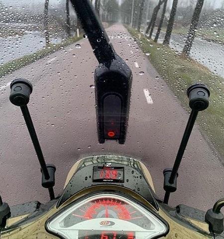 Scooter Ruitenwisser – Oplaadbaar – Draadloos