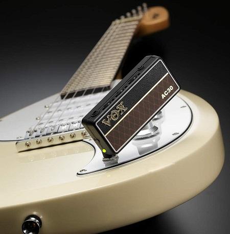 De Vox AmPlug hoofdtelefoon gitaarversterker.