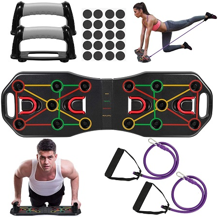 Push Up Board – 9 in 1 – Multifunctionele Thuistraining