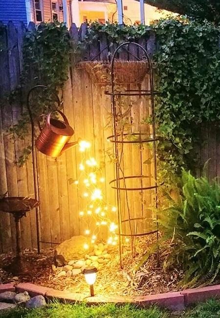 Gieter Licht Waterval – LED – Buiten