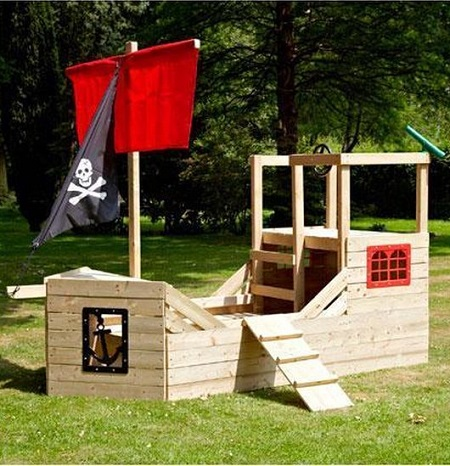 Piratenschip Speeltoestel