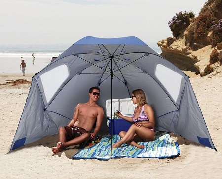 Parasol Strandtent – Windscherm Parasol