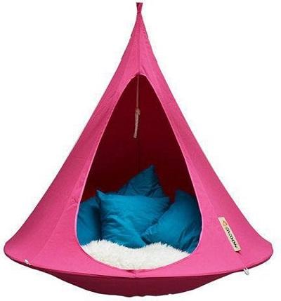 Cacoon hangmat - Heerlijk relaxen voor binnen of buiten.