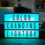 Van Kleur Veranderende Lightbox