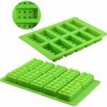 Lego Stenen Ijsblokjes - Chocoladevorm