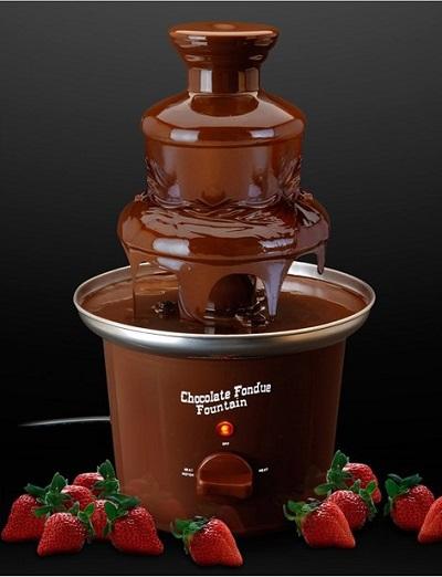 Chocoladefontein laat de droom van iedere chocoladeliefhebber in vervulling gaan.