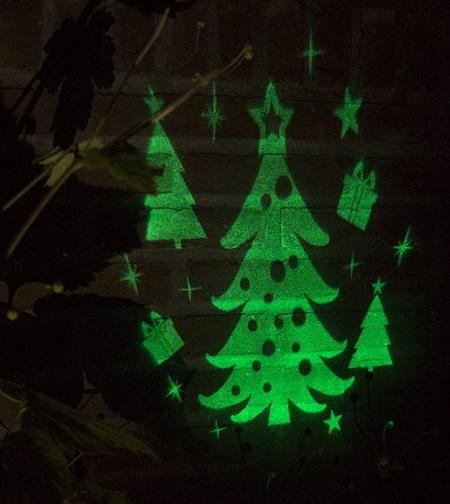 Kerstboom Led Projector Daarom Ben Ik Blut
