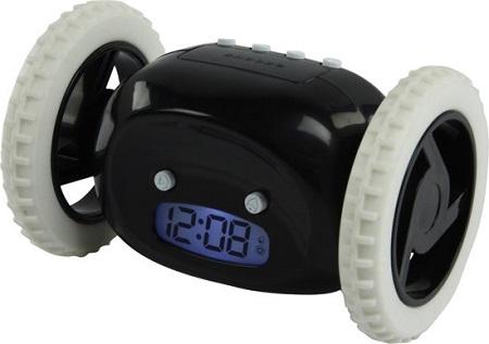 Rijdende wekker voor chronische slaapkoppen.
