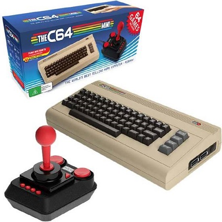 Met de Commodore 64 Mini herbeleef je de retro games en het heerlijke SID geluid van de jaren 80.