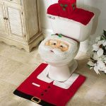 Kerstman Toilet Set