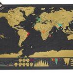 Kras Wereldkaart - Scratch Map Deluxe