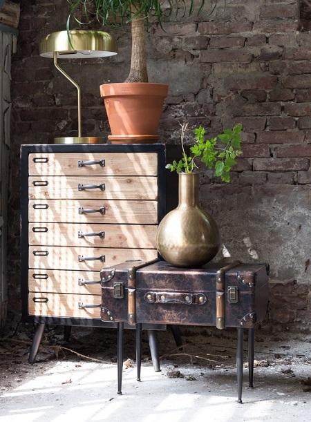Dutchbone Luggage – Bijzettafel