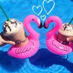 Opblaasbare Flamingo Bekerhouders