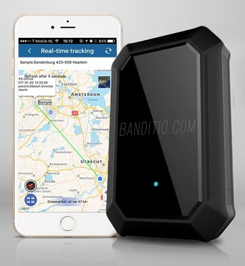 Met deze handige GPS tracker voor je motor, auto, boot of caravan weet je voortaan altijd waar je voertuig zich bevindt.
