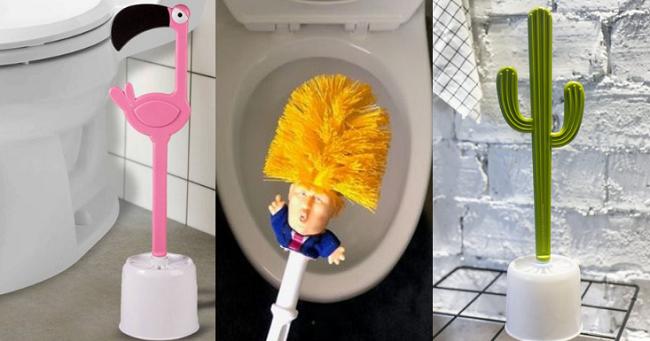 Leuke en Grappige WC-Borstels