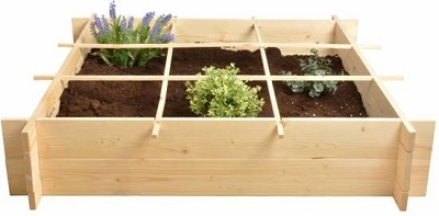 Moestuinbak - vierkante meter tuin.