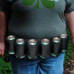 Beer Belt - Geschikt voor 6 Blikjes Bier