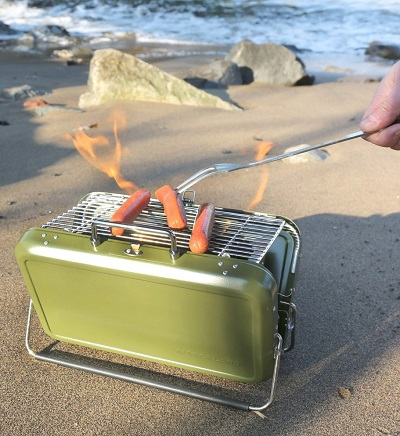 BBQ Koffer – Draagbare Barbecue