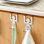 Handdoekhaakjes - Mannetje en Vrouwtje