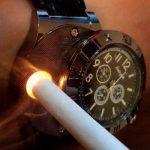 Horloge met USB Oplaadbare Aansteker