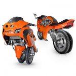 Uno III Streetbike - De Eerste Transformer Motorfiets