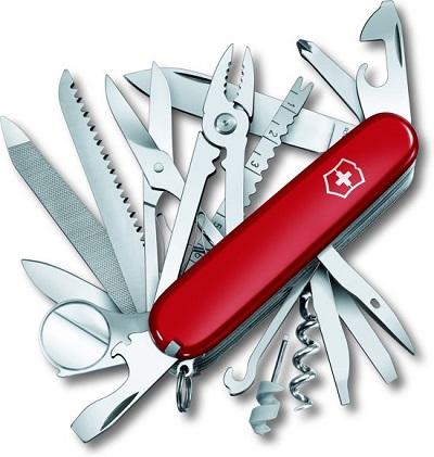 SwissChamps zakmes van Victorinox met 33 functies.