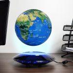 Zwevende Wereldbol – met LED verlichting