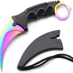 Counter Strike Karambit Fade Regenboog Survival Mes