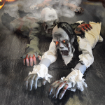 Kruipende Zombie - Halloween