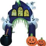 Halloween Opblaasbare Spookhuis Entree