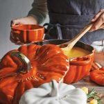 Pompoen Cocotte - Gietijzeren Stoofpan