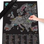 Scratch Map Gourmet Europa