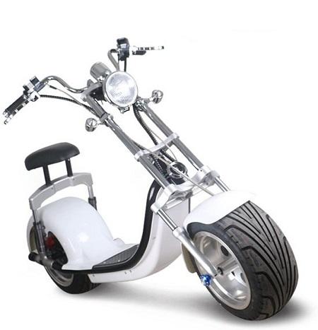 Elektrische scooter met uniek Harley model.