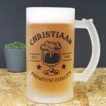 Gepersonaliseerde Bierpul - Naam en Geboortedatum