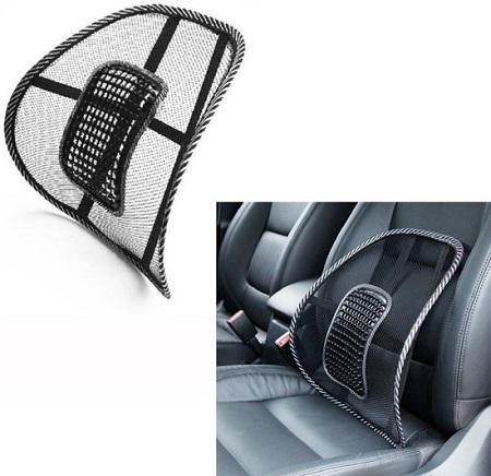 Ergonomische rugsteun voor in de auto of op kantoor.