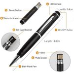 Verborgen Camera Spy Pen met Micro SD en Kaartlezer