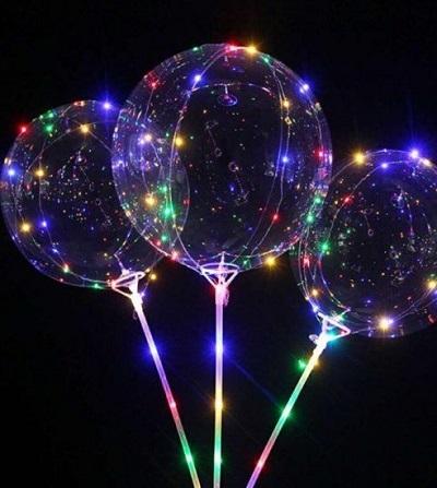 Ballonnen met LED Verlichting – XL