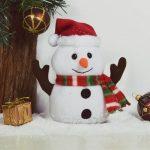 Pratende Sneeuwpop