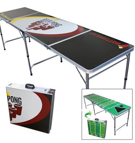 Opvouwbare beer pong tafel