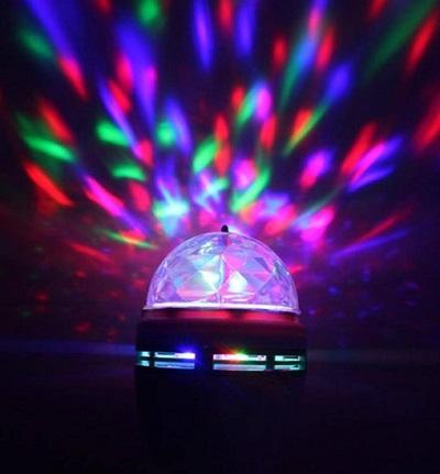 Roterende LED Disco Lamp – E27