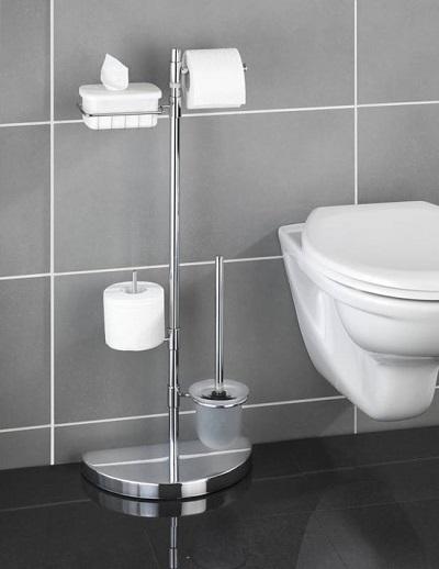 Ruimtebesparend toiletrek.