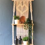Macramé Wanddecoratie - Plantenhanger