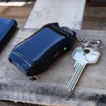 Mini Solar Powerbank Sleutelhanger met LED Zaklamp